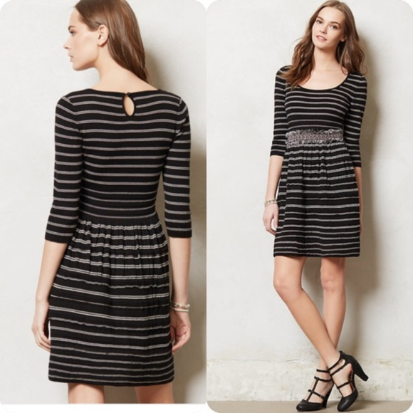 3becc1e16ed Anthropologie knitted   knotted sweater dress xs
